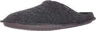 crocs 中性款经典拖鞋男士凉鞋 黑色/黑色 11 US Men / 13 US Women Classic Slipper