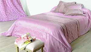 linder MILANO 床 Runner 和2个枕套涤纶沙 / powder 粉红色