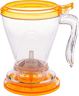 Tiesta 茶叶式飞机 Clear w/Orange Lid 16oz 69913