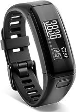 GARMIN 010–01955–08vivosmart HR 活动跟踪器常规版型–midnight blue 黑色 常规