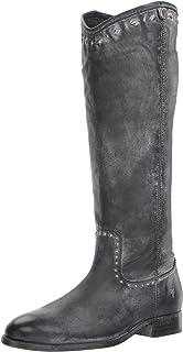 FRYE 女士 Melissa Button Multi Stud 及踝靴