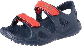 Crocs 卡骆驰儿童 Swiftwater River 凉鞋洞鞋