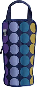 BUILT NY Ice Tec Freezable Wine And Champagne Bag, Plum Dot
