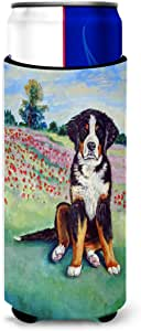 Bernese Mountain Dog Michelob Ultra Koozies for slim cans 7011MUK 多色 Slim