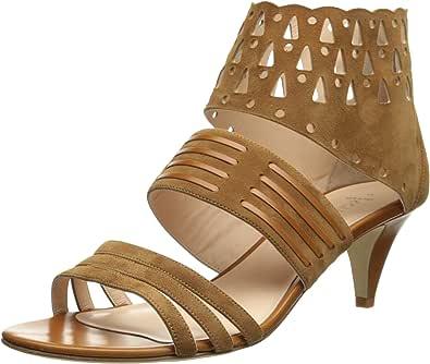 Aquatalia 女士 Delight 正装高跟鞋 Caramel 绒面革 8.5 M US