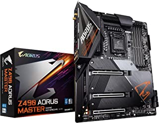 GIGABYTE 技嘉 Z490 AORUS Master (Intel LGA1200/Z490/ATX/Intel 2.5G LAN/3xM.2 Thermal Guard /SATA 6Gb/s/USB 3.2 Gen 2/Intel Wi-Fi 6/ESS Sabre DAC/Fins Array II/游戏主板)