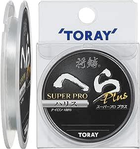 东丽(TORAY) 线条 将鳞 刮刀 Super proPLUS弹性75m 0.6号 自然