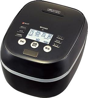 タイガー 炊飯器 5.5合 土鍋圧力IH 炊き分けメニュー プレミアム本土鍋 ブラック 炊きたて JPH-A100-K 需配变压器