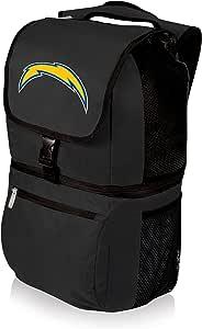 NFL Los Angeles Chargers Zuma 绝缘冷藏背包,黑色
