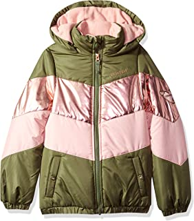 Skechers 女童运动厚款夹克外套