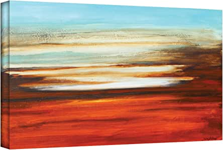 ArtWall Jolina Anthony 'Falling in Reverse' Gallery Wrapped Canvas Artwork, 12 by 24-Inch