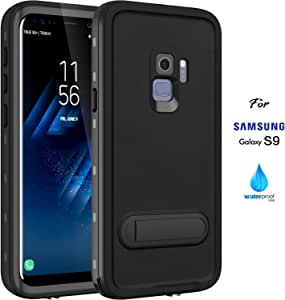 iPhone 6 6S 防水手机壳,ASAKUKI IP68 手机壳,认证手机壳,全机身保护,防震,防刮防尘,防尘保护套带敏感屏幕保护膜 For Samsung Galaxy S9 Only 标准