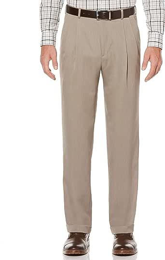 Perry Ellis 男式组合微喇裤 简单灰褐色 33W x 30L