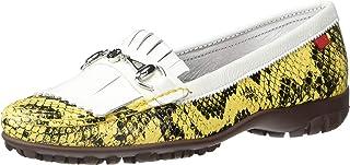 MARC JOSEPH NEW YORK 巴西制造女士皮革 Lexington 高尔夫球鞋