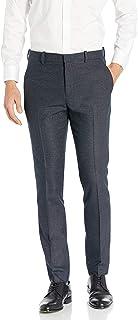 Perry Ellis 男式组合超薄混色图案西裤 *蓝 31W x 32L
