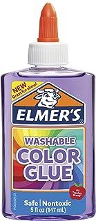 elmer's ' s 可水洗半透明彩色胶水