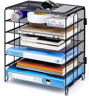 KEEGH 网状桌面文件夹收纳盒 适用于办公室家庭