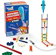 hand2mind Moving Creations with K'NEX, STEM Science Book & Building Kit, 9 Models & 18 Experiments to Learn about Engineerin