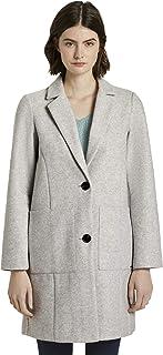 TOM TAILOR Denim 女士双层羊毛运动夹克