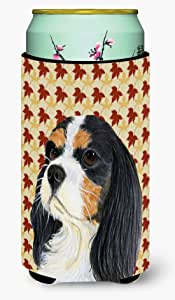 Cavalier Spaniel Fall Leaves Portrait Michelob Ultra Koozies for slim cans LH9099MUK 多色 Tall Boy