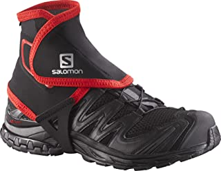Salomon High Trail Gaiters, Black, Medium, Size 7.5-9