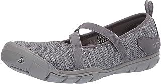 KEEN 女式 Hush Knit Mj CNX 玛丽珍平底鞋