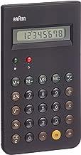 Braun BNE001BK(Reissue of the Braun ET66 計算器),黑色