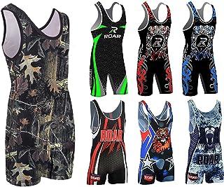 Roar Athletic 男士摔跤背心式紧身衣制服