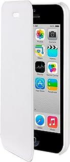 Moxie 手机壳适用于 iPhone 5 °C 超薄FOLIOCOVIP5CWHITE 翻盖 白色