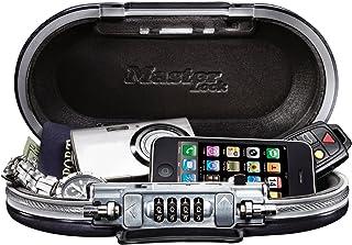Master Lock 5900D SafeSpace 便携式保险箱 青铜灰 金属灰色 9-17/32 in. Wide 5900D