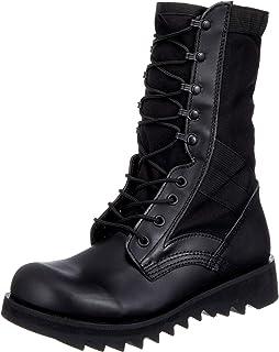 [罗斯科] 攀登靴、军靴 G.I. Type Black Ripple Sole Jungle Boots (5050 宽)
