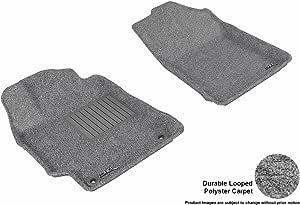 3D MAXpider 全套定制适合全天候地垫 适合丰田凯美瑞/野营混合车型 灰色 L1TY17312201