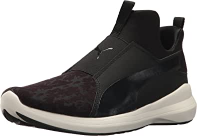 PUMA 女士 Rebel 中帮 WNS VR 运动鞋 黑色(Puma) 5.5 M US