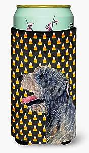Irish Wolfhound Candy Corn Halloween Portrait Michelob Ultra Koozies for slim cans SS4299MUK 多色 Tall Boy