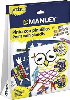 Manley-Artist 刻版画,混色 (MNC00010)