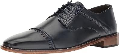 STACY ADAMS 男士 Ryland 开普托牛津鞋 深蓝色 10.5 M US