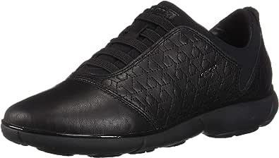 GEOX 女式 D 星云 C 低帮运动鞋 Black (Black C9999) 2.5 UK