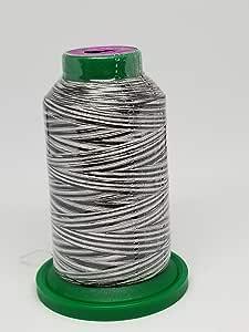 Isacord 刺绣线多色可选 1000m 9005 Salt & Pepper 1000 meters 02579