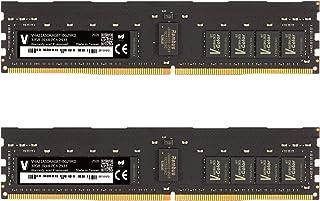 v-Color 64GB(2 x 32GB)服务器内存 RAM 模块,适用于 Apple Mac Pro 2019 * DDR4 2933MHz (PC3-23400) ECC 注册 DIMM 双列1.2V CL21 2Rx8 (VHA21AS...