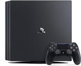Sony 索尼 PlayStation 电脑游戏机 PS4 Pro 电脑娱乐游戏主机 1TB版黑色 (新版上市,性能强大,4K游戏靠它)