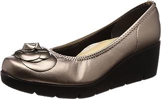[一段式隐形]日本制造 美腿 休闲浅口鞋 女士 厚底 IM39608