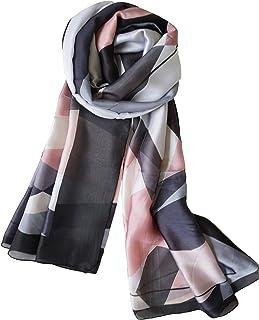 丝绸围巾长款轻质女士时尚围巾适合任何场合或季节 由 Purple Expressions 出品