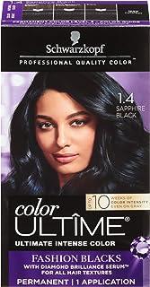 Schwarzkopf Color Ultime Hair Color Cream, 1.4 Sapphire Black