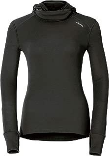 ODLO 女式保暖长袖 T 恤带兜帽