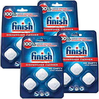 Finish In-wash Dishwasher Cleaner Clean Hidden Grease & Grime, 12Count