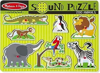 Melissa & Doug 有声拼图-动物园