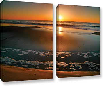 ArtWall 2 Piece Steve Ainsworth's Morning Has Broken Gallery Wrapped Canvas Set, 24 x 32""