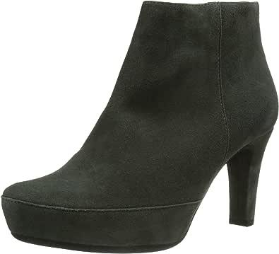 UNISA 女 踝靴 NANCER_KS CARBON 典雅灰 Gray 36 (亚马逊进口直采,西班牙品牌)