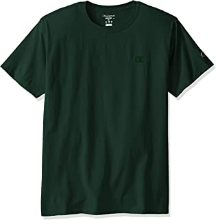Champion 男式经典圆领基础款短袖T恤