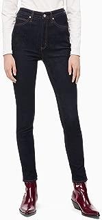 Calvin Klein 女士 CKJ 010 高腰修身牛仔裤